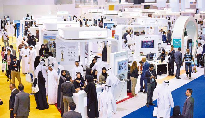 Foto: Producători români din sectorul informatic, prezenți la târgul IT din Dubai
