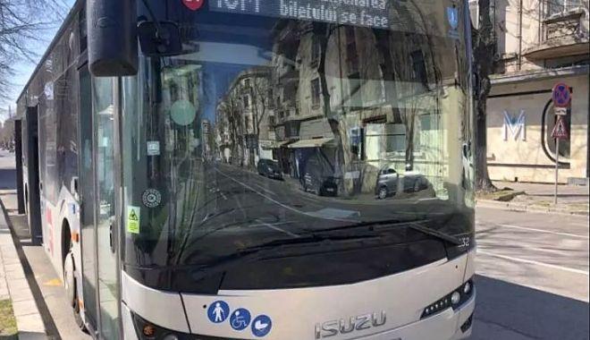 Foto: Programul de circulație a autobuzelor se modifică pe 1 mai