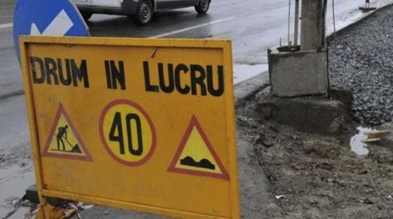 Foto: Trafic restricționat la Constanța! Tronson de drum, în reabilitare