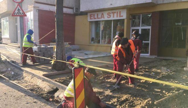 Foto: Proiectul de reabilitare a bulevardului Tomis e în plină desfășurare!