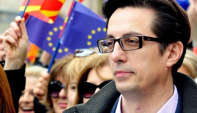 Foto: Pro-occidentalul Stevo Pendarovski, noul președinte al Macedoniei de Nord