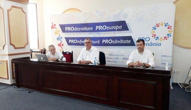 Foto: Francisc Ionuț Paloși, candidatul Pro România la Primăria Cumpăna