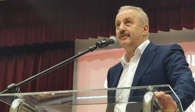 """Foto: Vasile Dîncu, de la PSD: """"La scrutinul din 27 septembrie, meciul începe de la 0 la 0"""""""