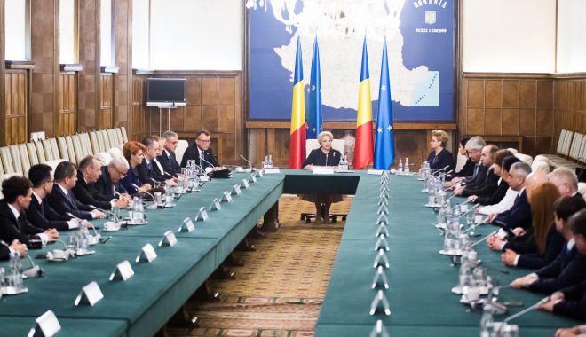 Foto: PSD se reunește în ședință. Situația Guvernului, pe ordinea de zi