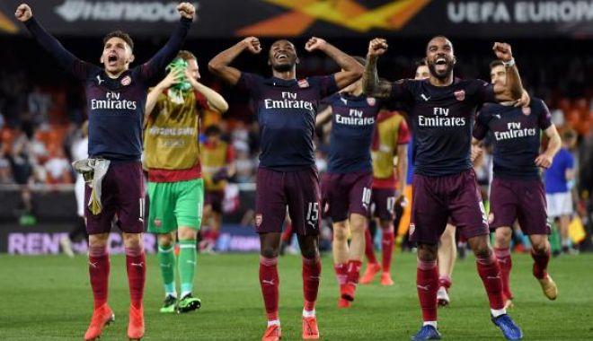 Foto: Valencia - Arsenal, încă un meci care aduce englezii într-o finală europeană