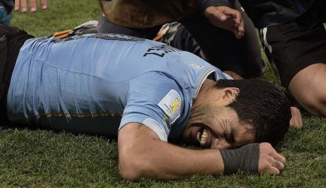 Foto: Luis Suarez, la pământ! Mesajul lui Neymar când l-a văzut că plânge ca un copil