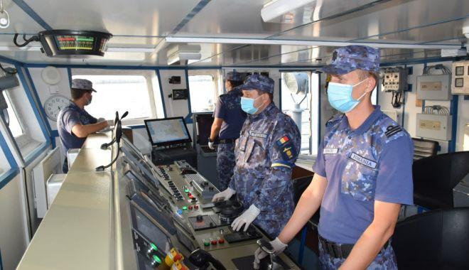 Puitor de mine al Forțelor Navale, întors din misiunea din Marea Egee - puitormineacasa-1604071856.jpg