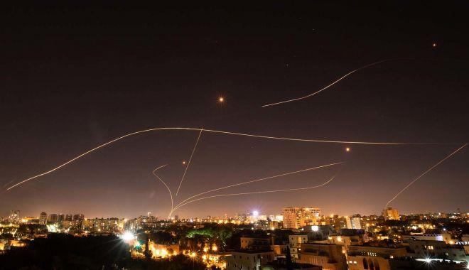 Israelul a lansat noi lovituri aeriene împotriva Hamas în Gaza - rachete-1623824849.jpg