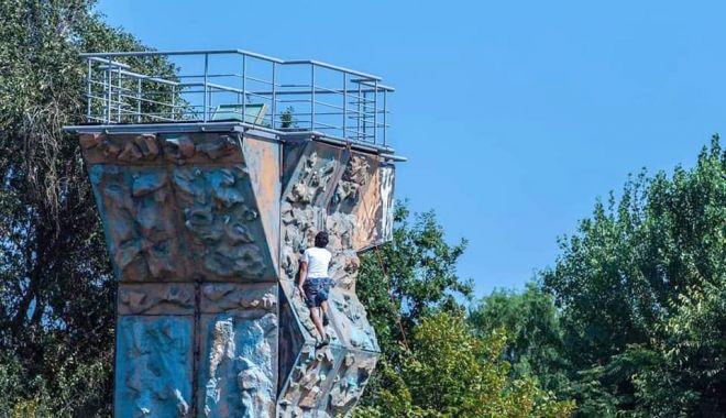 Vești bune pentru amatorii de escaladă! La Gravity Park este permis accesul în zona de climbing! - raedppturnescalada2-1600713532.jpg