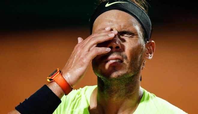 Foto: Tenis / Turneul de la Roma, fără principalul favorit: Rafael Nadal a fost eliminat în sferturile de finală