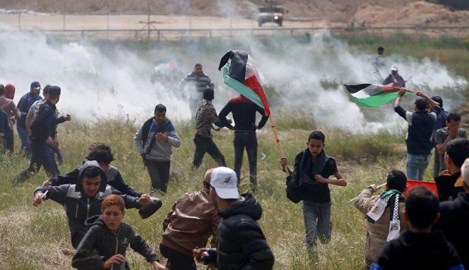 Foto: Răspunsul Israelului la manifestațiile din Gaza, crime împotriva umanității?