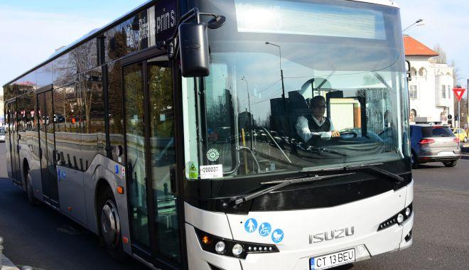 Foto: Anunț important de la RATC. Traseele mai multor autobuze, DEVIATE!