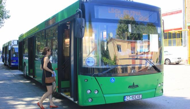 Foto: Se schimbă traseele autobuzelor Sirena și Delfinul din Mamaia