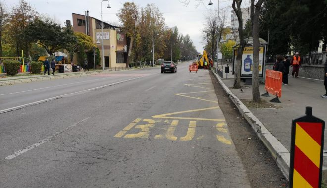Șoferi, atenție la parcări! Lucrări de modernizare pe bulevardul Tomis - reabilitarebulevardultomis3-1574082062.jpg