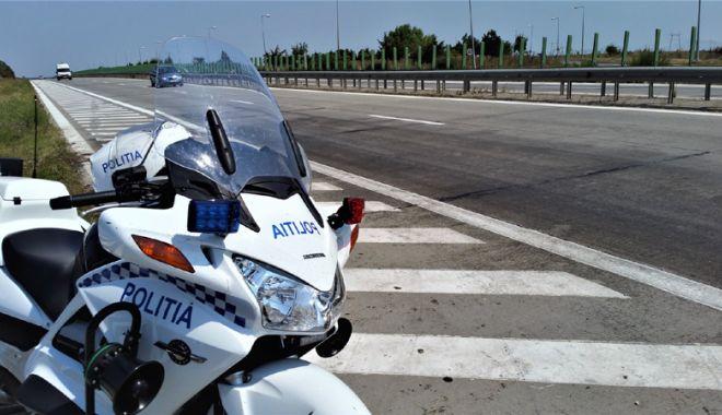 Foto: Recordul de viteză pe autostradă, deținut de un constănțean