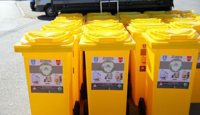 Administraţia locală din Constanţa reîncepe distribuirea pubelelor galbene - reincepedistribuirea-1617383998.jpg