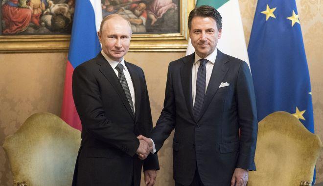 Foto: Relațiile dintre Moscova și UE pot fi îmbunătățite prin contribuția Romei