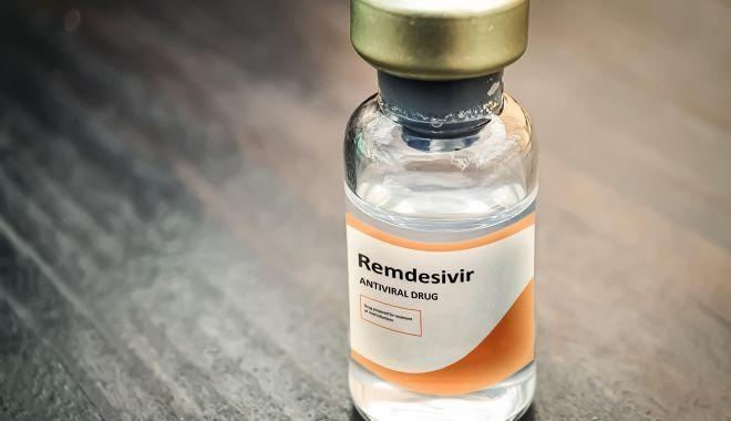 O nouă tranşă de Remdesivir, distribuită de MS în spitalele cu pacienţi bolnavi de Covid-19 - remdesivir-1634199279.jpg