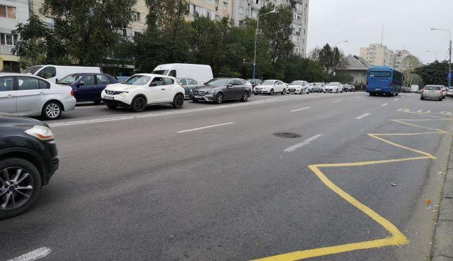 Foto: Șoferi, atenție! Restricții de circulație pe bulevardul Tomis