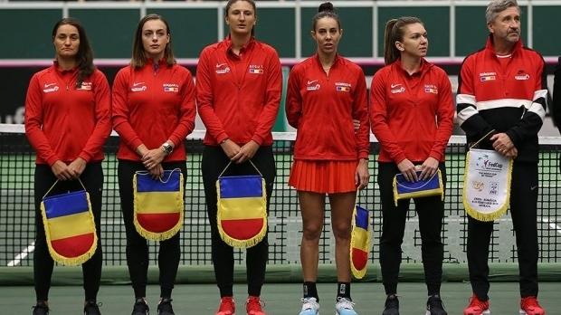 Foto: Florin Segărceanu a anunțat lotul României pentru semifinala cu Franța din FED CUP
