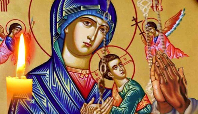 Adormirea Maicii Domnului sau Sfânta Maria Mare, tradițiile și semnificațiile sărbătorii - rugaciuneacaresespunedesfantamar-1597473054.jpg
