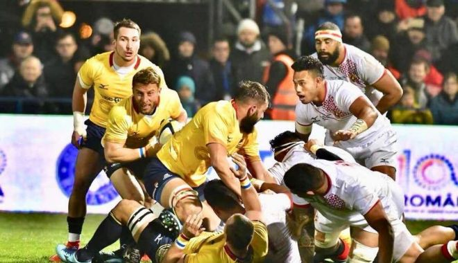 Foto: Federația Română de Rugby, dezamăgită și surprinsă de menținerea sancțiunii de depunctare a echipei naționale