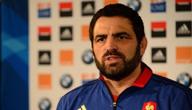 Foto: Antrenor francez la naționala de rugby a României