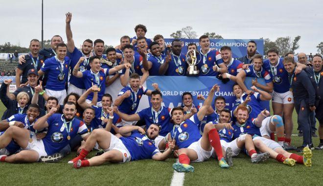 Foto: Mondialele de rugby U20, ediția 2022, ar putea avea loc în România