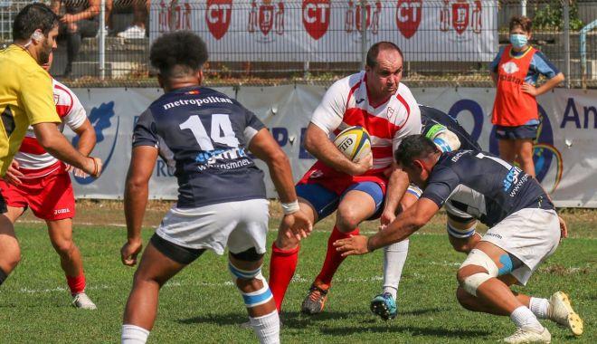 Foto: Rugby / Tomitanii, repriză de coşmar cu Dinamo, în Cupa României