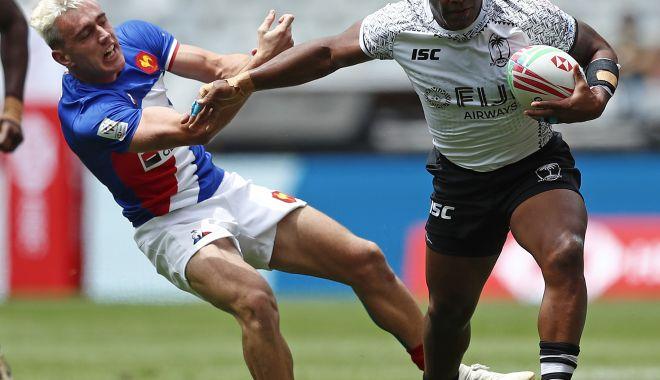 Foto: Fiji a învins Franța, la rugby în șapte!