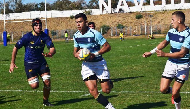 Foto: Rugbyștii de la CS Năvodari au sărbătorit un an de la câștigarea DNS