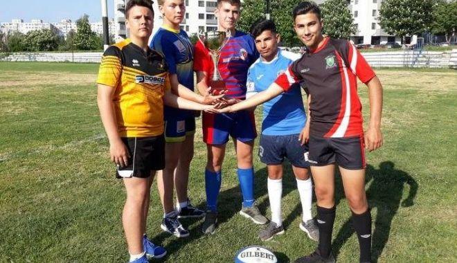 Foto: Turneul final al CN de rugby juniori U15, la Constanța