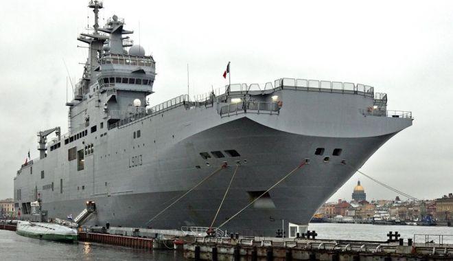 Foto: Rusia anunță demararea construcției a două portavioane de genul Mistral