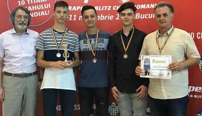 Foto: Șahiștii constănțeni, remarcați la Campionatele Naționale pe echipe - juniori