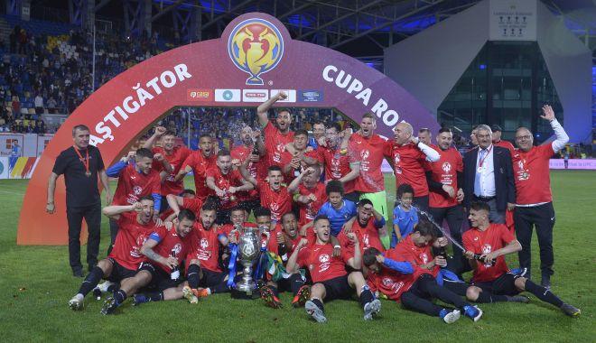 Foto: Un an de când FC Viitorul a câștigat Cupa României