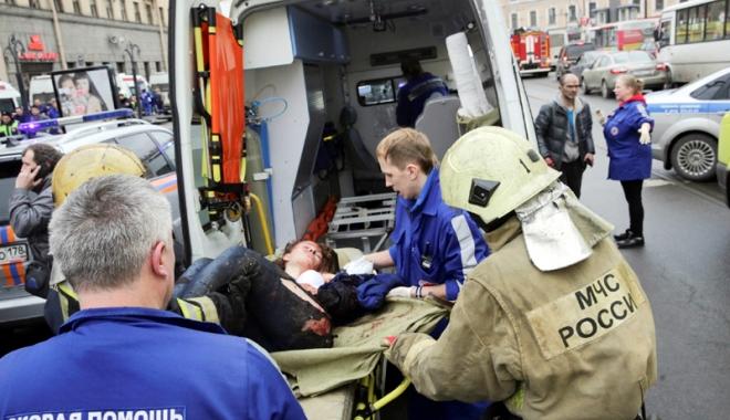 Foto: Atentat în Sankt-Petersburg. Autoritățile ruse au reținut un nou suspect