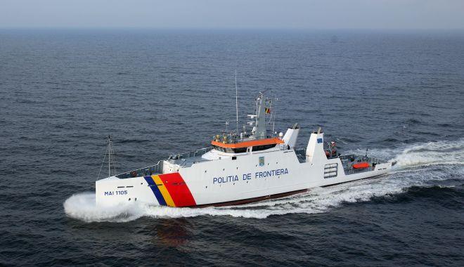 Foto: Polițiștii de frontieră constănțeni, salvatori pe mare