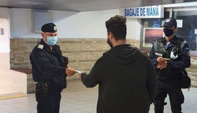 Constănţeni sancţionaţi de jandarmi pentru că nu purtau măşti - sanctiuni-1614367184.jpg