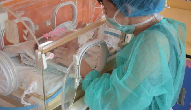 """Foto: Lucrări avansate la Secția de Terapie Intensivă Nou-Născuți """"Copiii vor primi cele mai bune tratamente"""""""