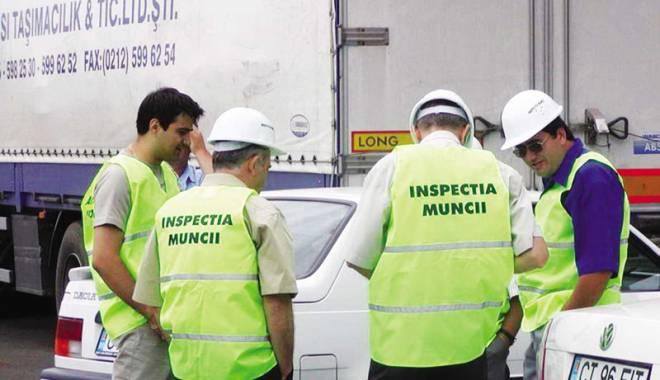 """Foto: Șantierele din Constanța, luate """"la puricat""""  de inspectorii de muncă"""