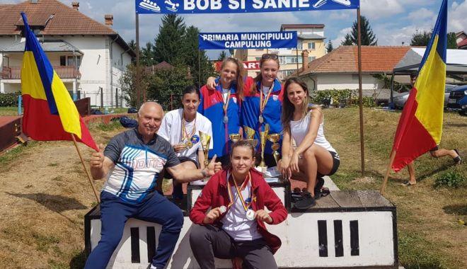 Foto: Șase medalii pentru ACSSI Mamaia la competițiile de bob de la Câmpulung Muscel