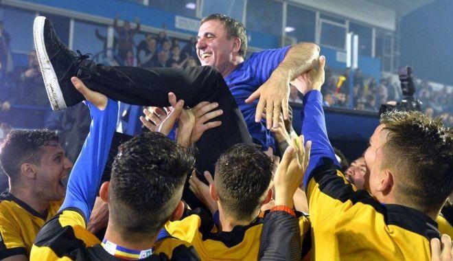 Foto: Aniversare. 3 ani de când FC Viitorul a devenit campioana României