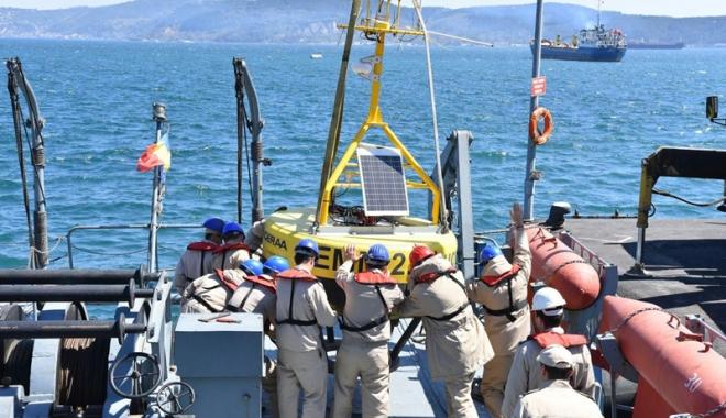 Foto: S-au întors în Portul Militar Constanța după 5 săptămâni de misiuni