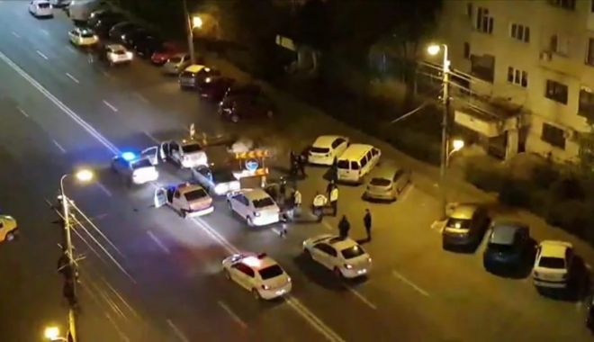 Scandal în miez de noapte, pe străzile Constanței! Fugari cu Poliția după ei - scandal-1587968735.jpg