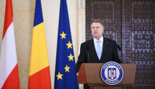 Foto: Președintele Klaus Iohannis, despre aderarea la Schengen