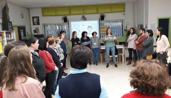 Foto: Schimb de experiență în Spania, pentru elevii din Medgidia