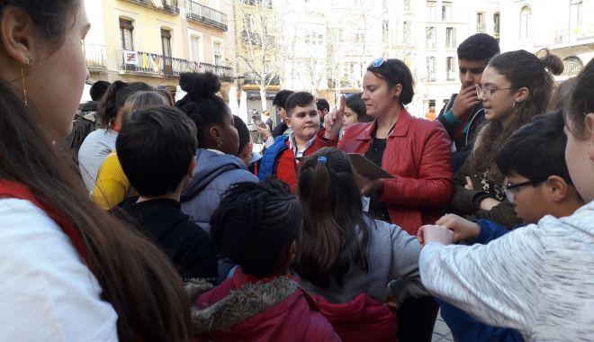 Foto: Elevii din Medgidia s-au școlit în Spania
