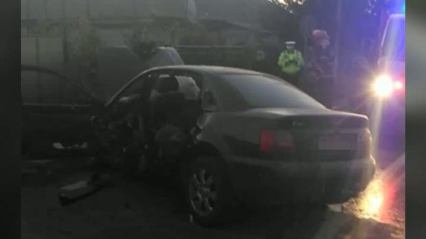 Foto: TRAGEDIA dimineții, pe drumul Hârșova - Tulcea! Un om a murit și alți doi sunt răniți grav