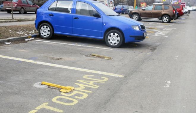 Foto: Cine sunt constănțenii care nu plătesc taxa  de rezervare loc parcare