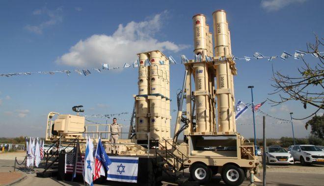Foto: Scutul antirachetă israelian Arrow-3, declarat operațional